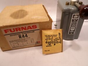Furnas R44 Forward Reverse Drum Switch Motor Controller Made In Usa