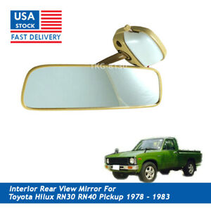 Rear View Mirror Car Interior For Toyota Hilux Rn30 N30 Pickup 1979 1983