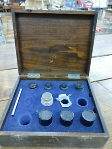 Spencer Microscope Lens Kit Including Eye Pieces Objective Lenes Free Ship