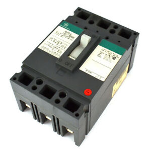 Ge Ted134070 70a 480vac 250vdc 3 pole Thermal Magnetic Circuit Breaker