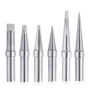6xreplacement Et Soldering Iron Tips For Weller We1010na Wesd51 Wes50 51 Kits