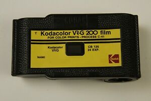 KODACOLOR VR G 126 CASSETTE NO FILM SUITABLE FOR RELOADING AND PAPER $12.95