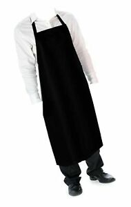 Cozy Home Glossy Smooth Vinyl Waterproof Apron Durable Lightweight 42hx26w In