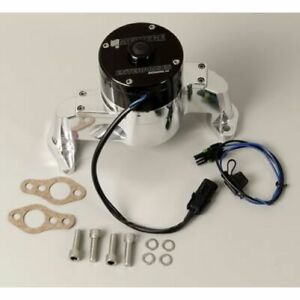 Meziere Wp101uhd Water Pump Electric 42 Gpm Billet For Chevy Small Block New