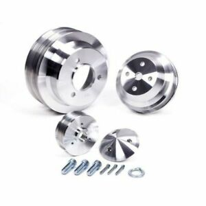 March Performance 7330 Pulley Set Serpentine Aluminum For Chevy Big Block New