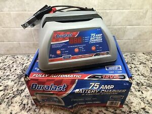 Duralast Dl 75 75 Amp Battery Charger Engine Starter Wow Fast Shipping
