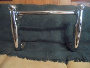 Vintage 40 S 50 S Car Or Truck Front Bumper Grill Guard Very Rare N O S