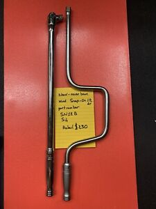 Snap On 1 2 Drive Breaker Bar And Speed Handle