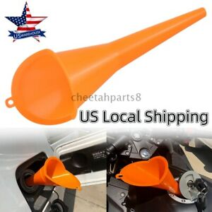 9 Long Neck Multi Purpose Auto Car Transmission Filler Oil Funnel Motorcycle