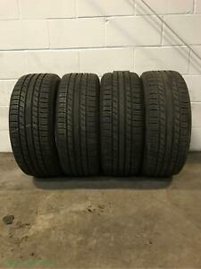 4x P225 50r17 Michelin Premier As 8 32 Used Tires