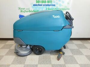Tennant T600e 32 Refurbished Walk Behind Disc Floor Scrubber