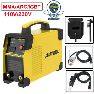 Mig Welder Welding Machine 160 Amp Igbt Mma Arc Stick Welder Inverter 110v 220v