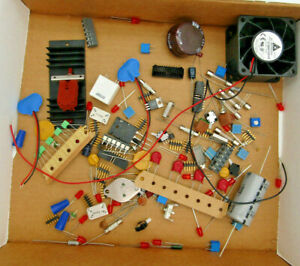 3 4 Lb Electronic Parts Components Grab Bag Diy Stem Assortment See What You Get