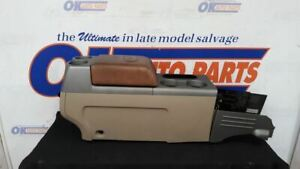 2004 08 Ford F150 King Ranch Oem Center Floor Console Assembly Tan
