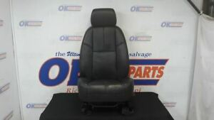 2007 08 Chevy Tahoe Driver Left Front Bucket Seat Black Leather An3 Heat
