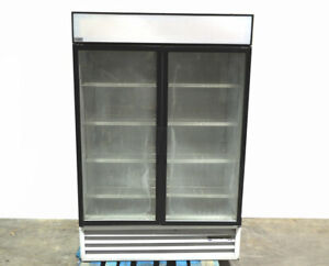 Beverage air Mt49 Glass Door Refrigerated Merchandiser Display Reach in R134a