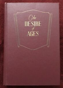 The Desire of Ages by Ellen G White 1956 Pacific Press SDA Adventist Maroon HC $44.40