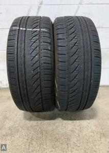 2x P255 45r18 Bridgestone Turanza With Serenity Plus 8 32 Used Tires