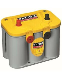 Optima 8014 045 D34 78 Yellowtop 12v 750cca Dual Purpose Deep Battery 2021