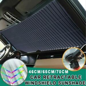 Windshield Sun Shade Car Retractable Visor Folding Cover Block Front Window Us