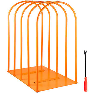 Tire Inflation Cage Tire Cage 5 bar Car Tire Inflation Tool With A Tire Changer