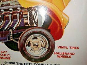 Slotted Chrome Halibrand Race Wheels Goodyear Slicks Tires 1933 Willys Hot Rod