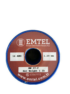 Emtel 16 And 26 Awg Enameled Copper Magnet Wire
