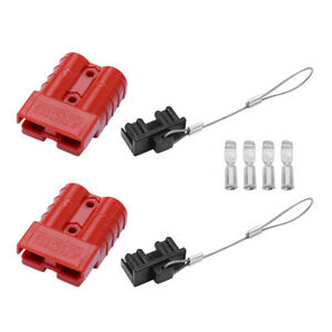 4x12 36v Battery Quick Connect Disconnect Waterproof Connector 6 10 Gauge 50a Us