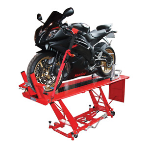 Biketek Hydraulic Motorcycle Workshop Lift Table Heavy Duty Ce Approved