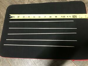303 Stainless Steel 3 16 Round 12 Long Bars Rods 5 Pack
