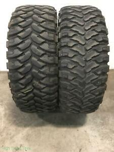 2x Lt35 12 50r20 Rolling Big Power Repulsor M T 12 32 Used Tires