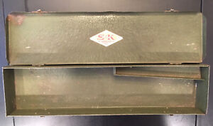 Vintage Sk Tools Box For Sockets 17 25 Inch