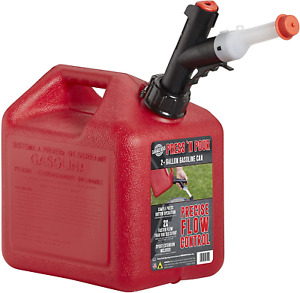 Garage Boss Gb320 Briggs And Stratton Press N Pour Gas Can 2 Gallon Red