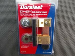 Duralast Battery Disconnect Safety Knife Blade Switch Side Post Mount