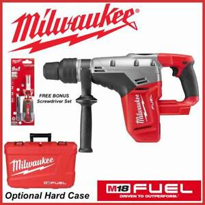 New Milwaukee 2717 20 M18 Fuel 1 9 16 Sds Max Rotary Hammer Instantly Ships
