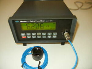 Newport 1830 c Optical Power Meter With 818 sl Detector And Calibration Module