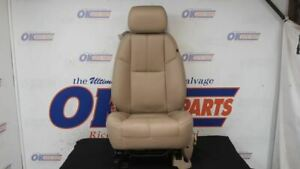 2012 13 14 Gmc Yukon Driver Left Front Bucket Seat Tan Leather Power A95