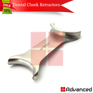 Dental Cheek Retractor Stainless Steel Orthodontic Tongue Lip Mouth Opener New