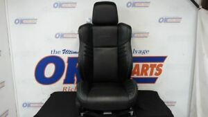 2016 Dodge Charger Hellcat Srt Passenger Right Front Bucket Seat Black Leather