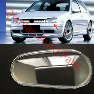 Replace Left Side Lucency Headlight Cover Glue For Vw Volkswagen Golf 1998 01
