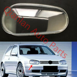 Replace Right Side Lucency Headlight Cover Glue For Vw Volkswagen Golf 1998 01