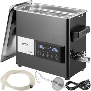 Vevor 6l Ultrasonic Cleaner Touch Cleaning Equipment Industry W Timer Heater