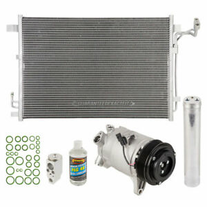 A C Kit W Ac Compressor Condenser Drier For Nissan Quest 2011 2014