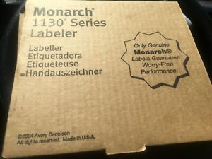 Monarch Paxar 1131 Price Label Gun For Sales Made In Usa