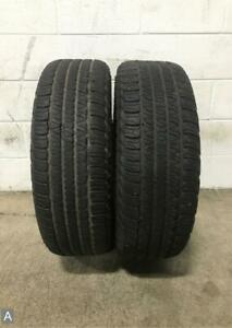 2x P245 65r17 Goodyear Fortera Hl 9 32 Used Tires