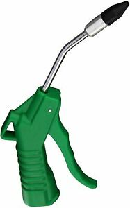 Astro Pneumatic 1717 Deluxe 4 Green Air Blow Gun With 1 2 Removable Rubber Tip