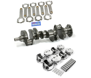 Forged Rotating Assembly W Scat Crank Rods For Chevrolet 383 2 Piece Seal