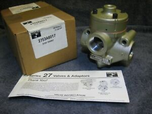 New Ross Controls 2753a6017 Air Pressure Controlled Pneumatic Valve Series 27