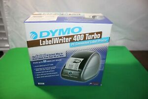 Dymo Labelwriter 400 Turbo Thermal Pc Connected Label Printer Open Box Unused