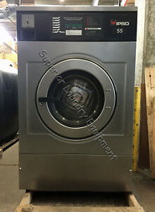 Ipso Iwf055 Washer 55lb Coin 220v 1 3ph Reconditioned